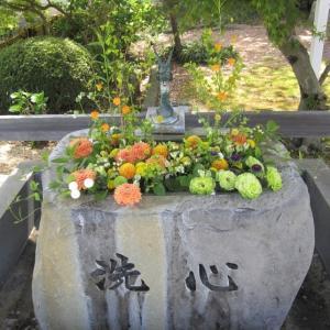 西行が昼寝をした72番札所の曼荼羅寺