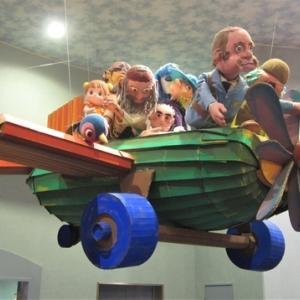 「とらまるパペットランド」は人形のワンダーランド