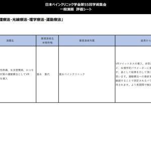 VRフィットネスの日本ペインクリニック学会評価