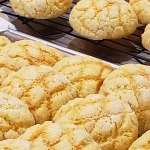 【レシピ】レモン風味のメロンパン
