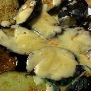 フライパンで作る!簡単ナスのチーズ焼き