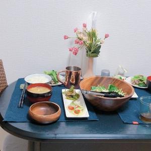 【料理】小松菜と砂肝のポン酢和えのレシピ