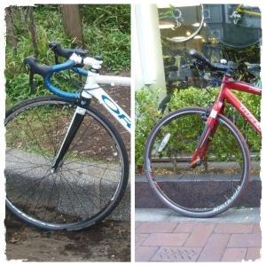 クロスバイクとロードバイクの違い 微妙だけど結構変わる ヘッド周りとフォークの話