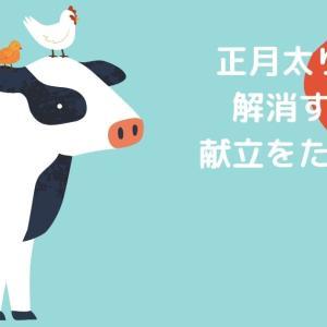 マクロ管理で正月太り脱出、ダイエット計画【食事編】