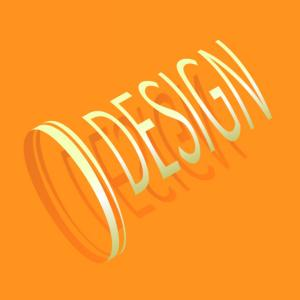 Illustratorで円柱型の3Dテキストを作る方法