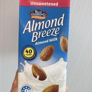 【食品】無糖アーモンドミルク比較!②