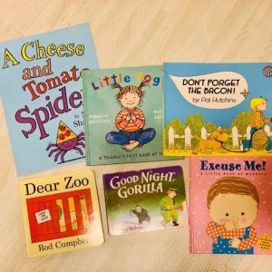 ワールドワイドキッズで使われている市販英語絵本12冊をレベル別に紹介♩