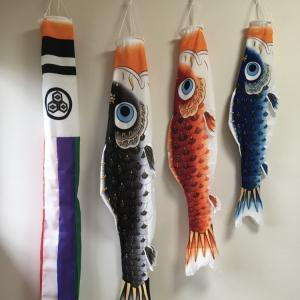 【こどもの日】鯉のぼりを飾った日