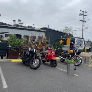 Cafe Moto ドライブスルーでカフェラテ