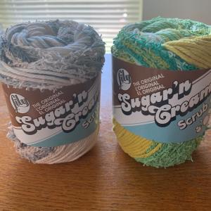 かぎ編みでボディタオル