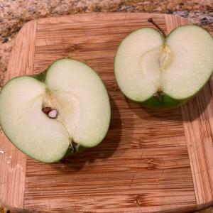 りんごを使ったオーバーナイトオーツ