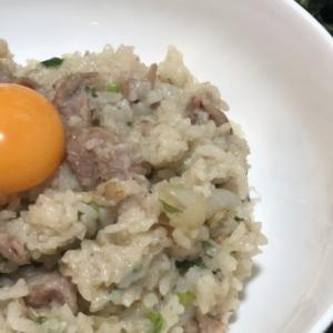 【今日の夕飯】ネギ豚の炊き込みご飯メインの和食料理(8月11日)