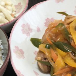 【今日の夕飯】豚こまボールのヘルシー酢豚メインの中華料理(7月29日)