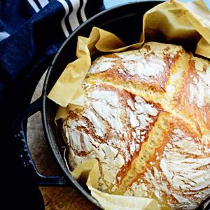 artisan bread and tiny pool*