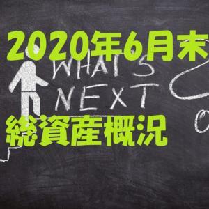 【悲惨】2020年6月末時点の総資産概況