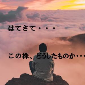 戸惑い【保有株の話】