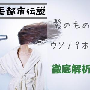 【髪の毛都市伝説?】海藻類で髪の毛がふえる!?などの髪の毛にまつわる4つの噂を徹底解析!!