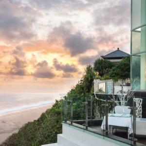 バリ島サンセット名所:バニャンツリーホテルのJu-Ma-Naレストラン