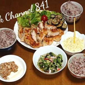 2020年10月29日(木) 夕飯🎵