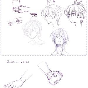 最近の絵の練習