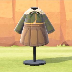 あつまれどうぶつの森 不二咲千尋(ダンガンロンパ)の制服 マイデザイン! あつ森 マイデザ