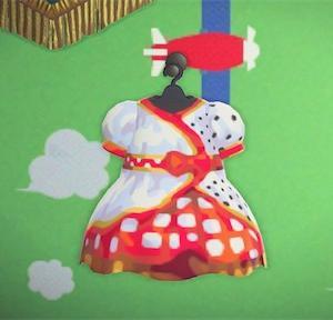 【あつ森】ディズニー ベリーベリーミニー ミニーちゃんの衣装 あつまれどうぶつの森 マイデザイン