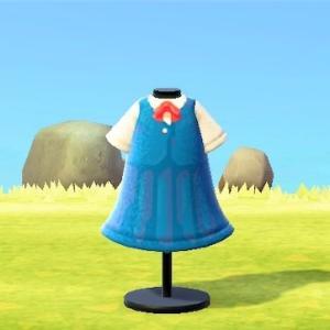 【あつ森】猫の恩返し ハルちゃんの制服をマイデザインで再現!あつまれどうぶつの森 ジブリ マイデザ