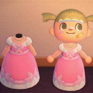 【マイデザ配布】シンデレラ ピンクドレス ディズニー あつまれどうぶつの森