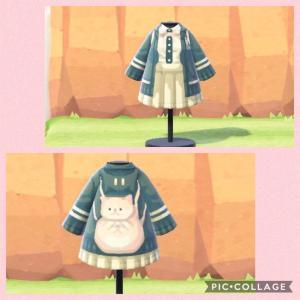 【あつ森】配布 七海千秋の制服マイデザイン!あつまれどうぶつの森 スーパーダンガンロンパ2