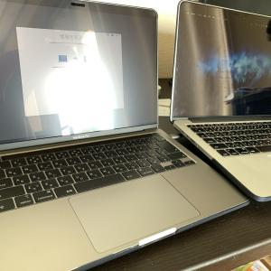 Macbook Pro2020が届きましたが