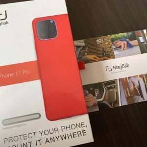 iPhoneケース「MagBak」が届きました