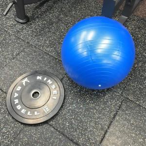 初バランスボール
