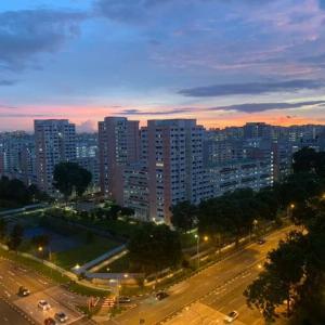 癒やし ~ シンガポールの空模様をお届け