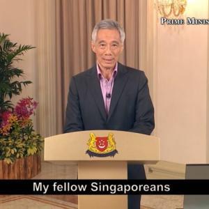 ニューノーマル下での繫栄を誓う力強い首相スピーチ