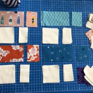 ミシンでパッチワーク/プラスキルトを作ろう!布の裁断編