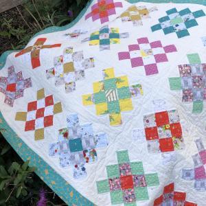 Granny Square Quilt 完成しました
