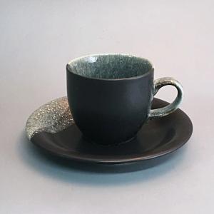 美濃焼 モダンなコーヒーカップ♪