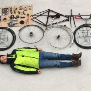 日本一周に使用した自転車のオーバーホール【解体編】