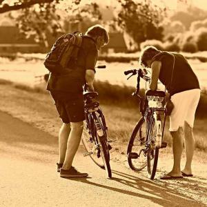 自転車旅行中に連続パンク!あなたの修理は完璧?【修理手順は分かる人向け】