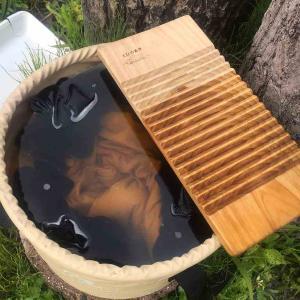 【洗濯板】日本一周中の洗濯方法【節約】