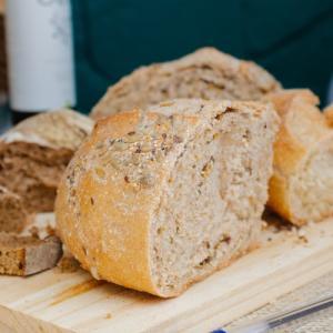 【パン】ベーキングパウダーとドライイースト