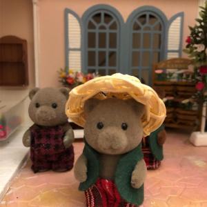 麦わら帽子作り