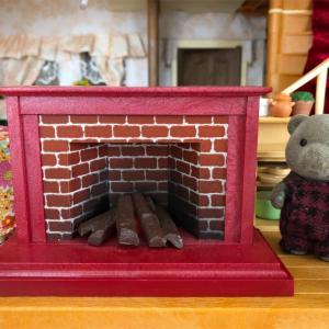 暖炉がやってきた!