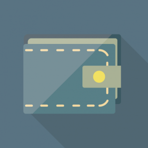 シンプル&ミニマルなグレゴリーの財布