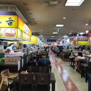 韓国最大の地下街❣️