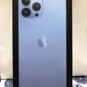 ついにiPhone13PROMAXがやって来た❣️