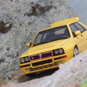#意外と有名な名車  ランチアデルタ インテグラーレ エボⅡ#