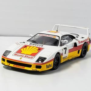 #市販車の面影が残る フェラーリ F40 モンテシェル#