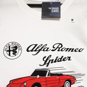 #UNIQLOで衝動買い  アルファロメオのTシャツ#