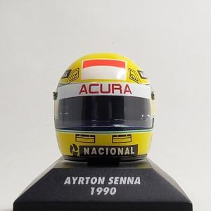 #セナ 2度目のタイトル獲得をした1990年 ヘルメット#